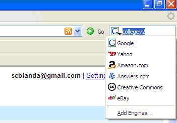 Firefox Search Bar
