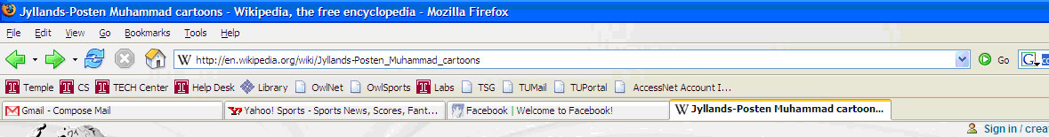 Firefox Tabbed Browseing